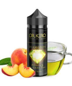 Dr. Kero Diamonds Longfill Aroma Pfirsich Grüner Tee 20ml