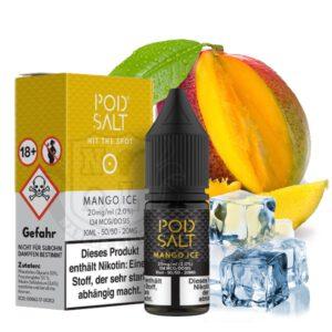 Pod Salt Nikotinsalz Liquid 20mg Mango Ice
