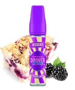 Dinner Lady Longfill Aroma Blackberry Crumble 20ml