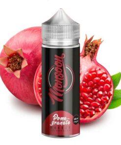 Monsoon Shortfill Liquid Pomegranate Breeze