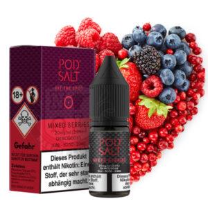 Pod Salt Nikotinsalz Liquid Mixed Berries