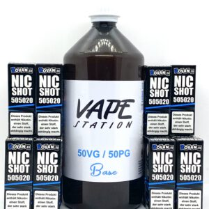 Vape Station Basen Bundle 50/50 3-4mg