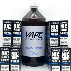 Vape Station Basen Bundle 50/50 6-12mg