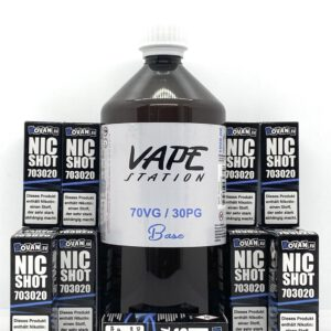 Vape Station Basen Bundle 70/30 3-4mg