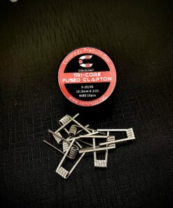 Coilology Tri-Core Fused Clapton Coil