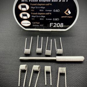 Geekvape MTL Fused Clapton Coil - 2 in 1 Box