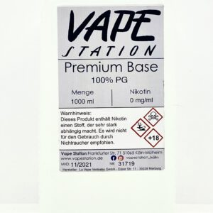 Vape Station Base PG 1 Liter