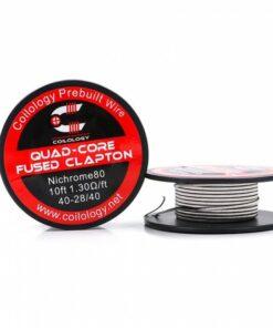 Coilology Quad-Core Fused Clapton Coil