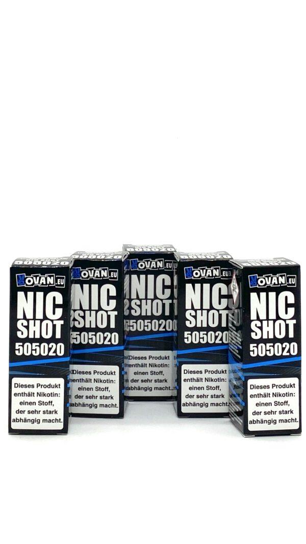 Vovan Nikotin Shots 5er Packung 50/50 20mg