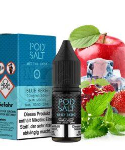 Pod Salt Blue Berg Nikotinsalz Liquid