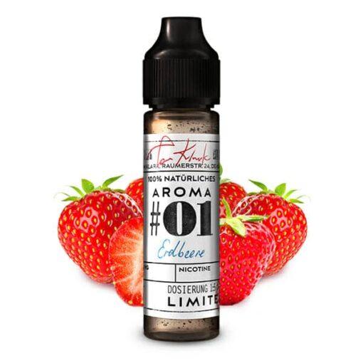 Tom Klark's 100% Natürliche Aromen #01 Erdbeere 10ml