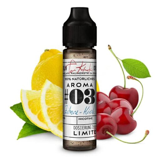 Tom Klark's 100% Natürliche Aromen #03 Zitrone-Kirsche 10ml