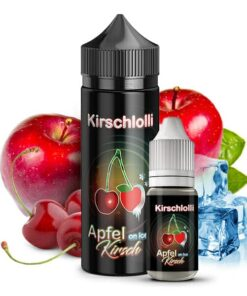 Kirschlolli Longfill Aroma Kirschlolli Apfel on Ice 10ml