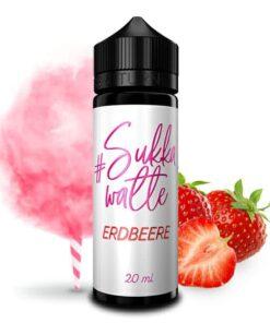 #Sukkawatte Longfill Aroma Erdbeere 20ml
