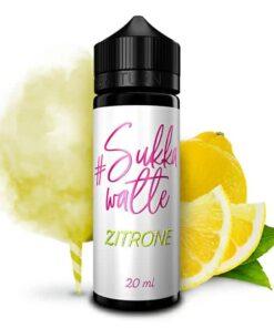 #Sukkawatte Longfill Aroma Zitrone 20ml