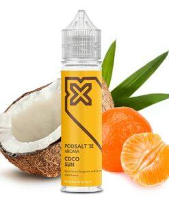 Pod Salt X Aroma Coco Sun leckere Mandarinen mit Kokos
