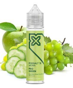 Podsalt X Aroma Pro Green Weintrauben mit Gurken und Äpfeln