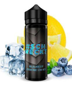 #Schmeckt Longfill Aroma Blaubeer Zitrone On Ice 20ml