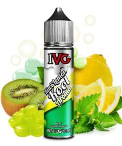 IVG Aroma Kiwi Lemon Kool mit dem Geschmack nach Zitronen, Kiwi und Minze