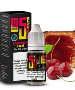 5 Elements Cherry Jam Nikotinsalz Liquid 18mg