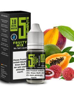 5 Elements Fruity Mix Nikotinsalz Liquid 18mg