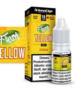 Innocigs Liquid Fresh Yellow Zitrone 10ml