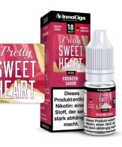 Innocigs Liquid Pretty Sweetheart Erdbeer-Sahne 10ml
