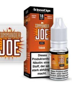 Innocigs Liquid Commander Joe Tabak 10ml