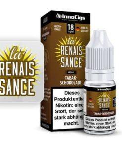 Innocigs Liquid La Renaissance Tabak-Schokolade 10ml