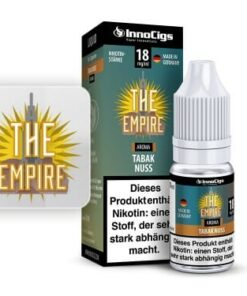 Innocigs Liquid The Empire Tabak Nuss 10ml