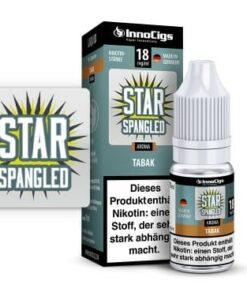 Innocigs Liquid Star Spangled Tabak10ml