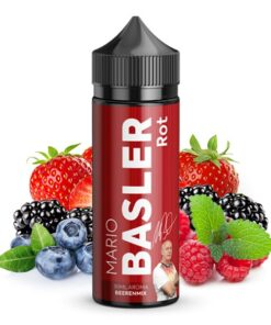Mario Basler Longfill Aroma Rot Beerenmix 30ml