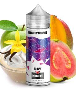 Day and Night Aroma Nightwave mit dem Geschmack von Mango, Guave, Apfel und Vanille Creme