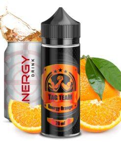 Energy Orange Aroma von Tag Team mit dem Geschmack von Energydrink mit Orange