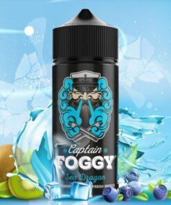 Captain Foggy Aroma Sea Dragon 20ml mit blauem Hintergrund